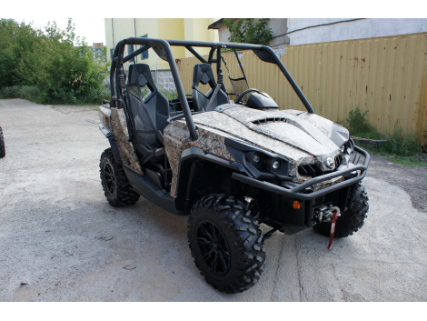 2012 CAN-AM COMMANDER 800R XT