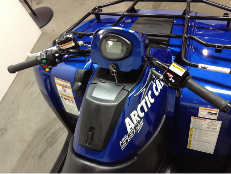 2010 ARCTIC CAT 550 POWER STEERING